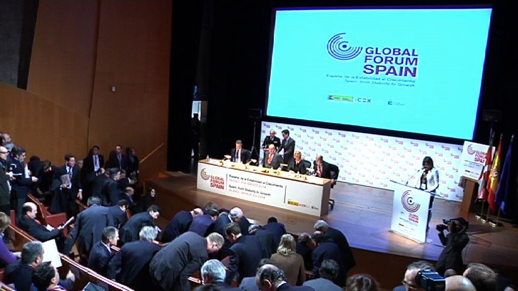 El lehendakari defiende un modelo de crecimiento y desarrollo humano en el Global Forum Spain  [10:17]