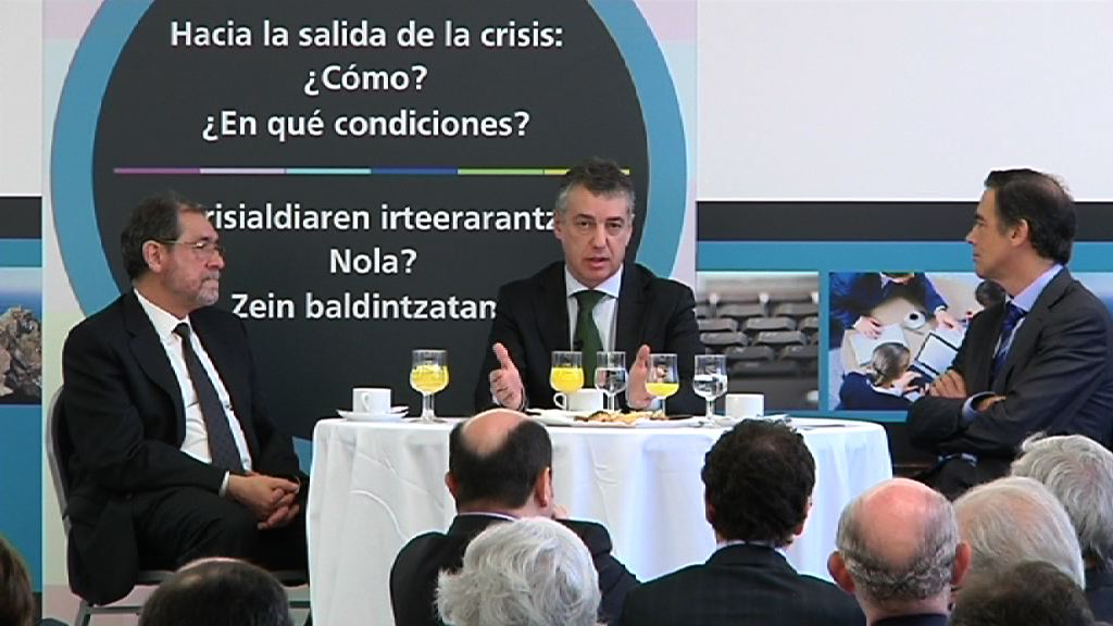 El lehendakari defiende el proyecto Euskadi 2020 para el crecimiento sostenible y desarrollo humano [62:35]