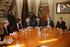 Reunión entre el Ayuntamiento de Bilbao, el Departamento de Seguridad y Bilbao Dendak