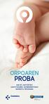 Primer positivo de homocistinuria en el Programa de Cribado Neonatal de Euskadi