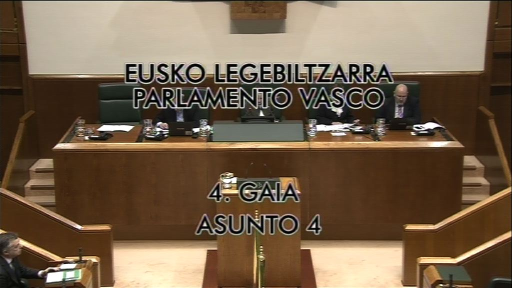 Pregunta Nerea Llanos, grupo Popular Vasco, pensiones [9:02]