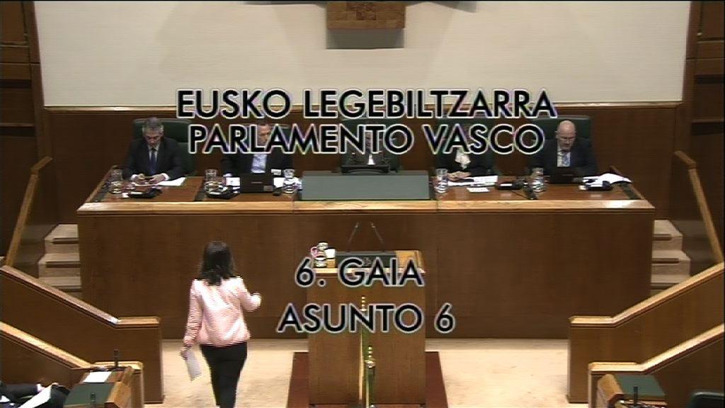 Pregunta, Gorka Maneiro, grupo Mixto UPyD, atentados sin esclarecer [9:09]
