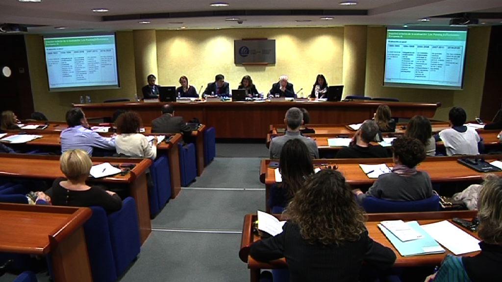 2ª sesión de las jornadas 'La cultura de la planificación y evaluación en la gestión pública' [0:48]
