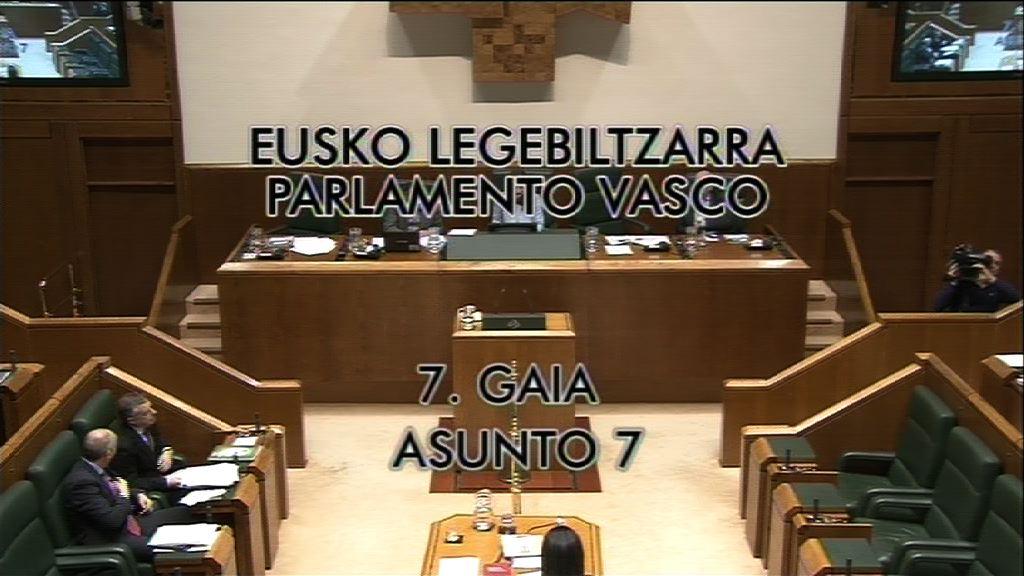 Interpelación, Gorka Maneiro, grupo Mixto-UPyD, futuro de la Secretaría General de Paz y Convivencia [29:27]