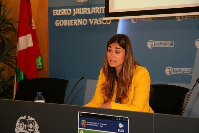 La Dirección de Tráfico presenta una nueva App que informará sobre incidencias en las carreteras vascas