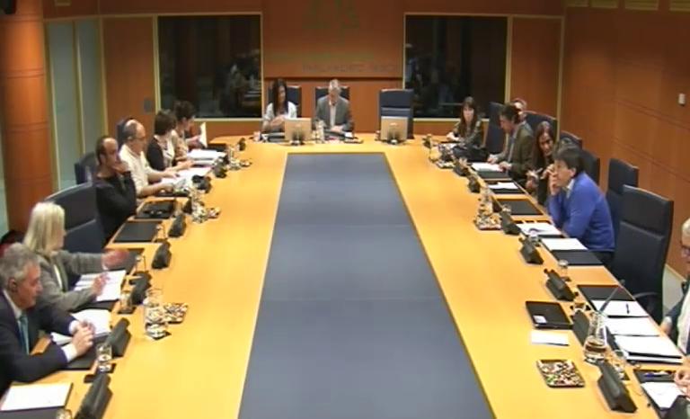 Arantza Tapia presenta el Plan Interinstitucional de Apoyo a la Actividad Emprendedora (PIAAE) en el Parlamento Vasco [32:09]