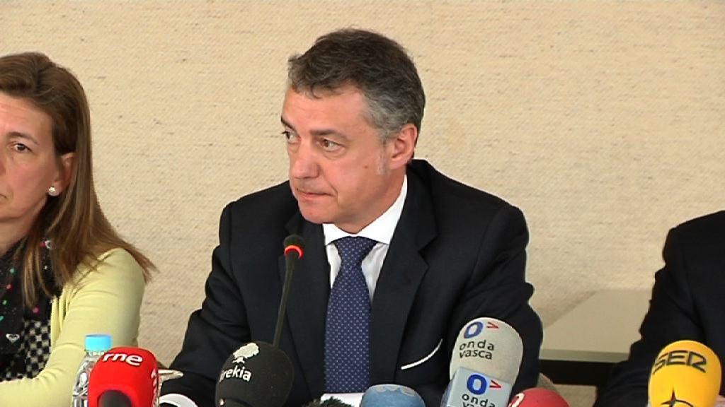 El Gobierno  Vasco y el Consejo Regional de Aquitania ratifican su compromiso con la Eurorregión en la Cumbre celebrada en Burdeos [11:59]