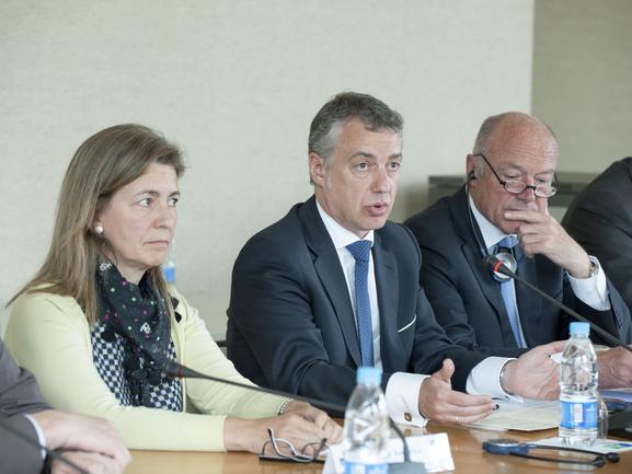 El Gobierno  Vasco y el Consejo Regional de Aquitania ratifican su compromiso con la Eurorregión en la Cumbre celebrada en Burdeos