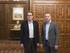 El Lehendakari recibe en Ajuria-Enea al President de la Generalitat, Artur Mas