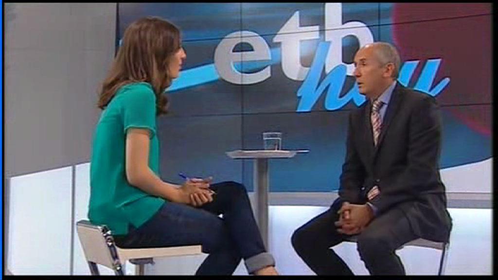 """Entrevista a Josu Erkoreka en el programa """"ETB Hoy"""" de ETB2 [30:10]"""