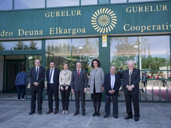 El lehendakari apuesta por una Política Agraria Común propia en el Centenario de la Cooperativa Agraria San Isidro - Gure Lur