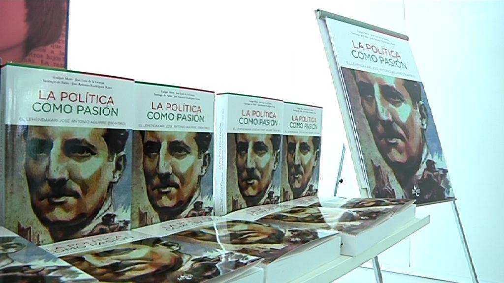 Lehendakariak parte hartu du Aguirre lehendakariari buruzko biografia baten aurkezpen-ekitaldian [8:46]