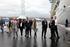 Oregi ve en los nuevos muelles de la terminal de Cruceros del Puerto de Bilbao la imagen del europeísmo e internacionalización del País Vasco