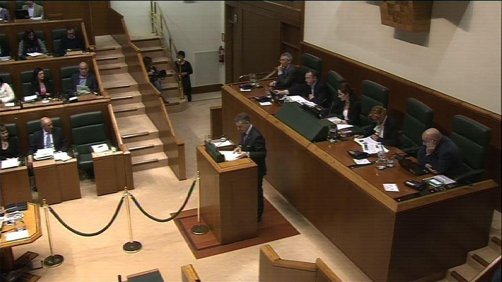 Pleno de Control al Gobierno Vasco  [239:08]