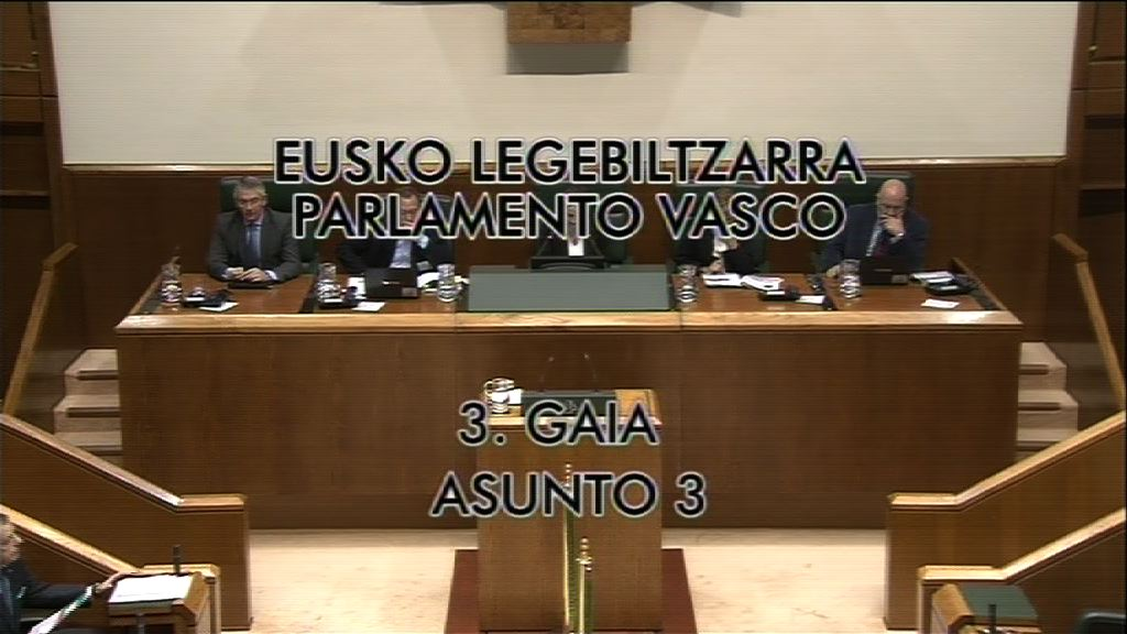 Pregunta, José Antonio Pastor, grupo Socialistas Vascos, objetivo de déficit cero [8:32]
