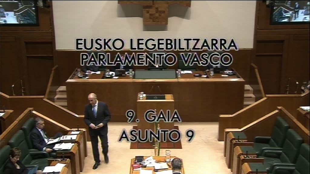 Pregunta, Carmelo Barrio, grupo Popular Vasco, órganos de gobierno de Itzarri EPSV [8:59]