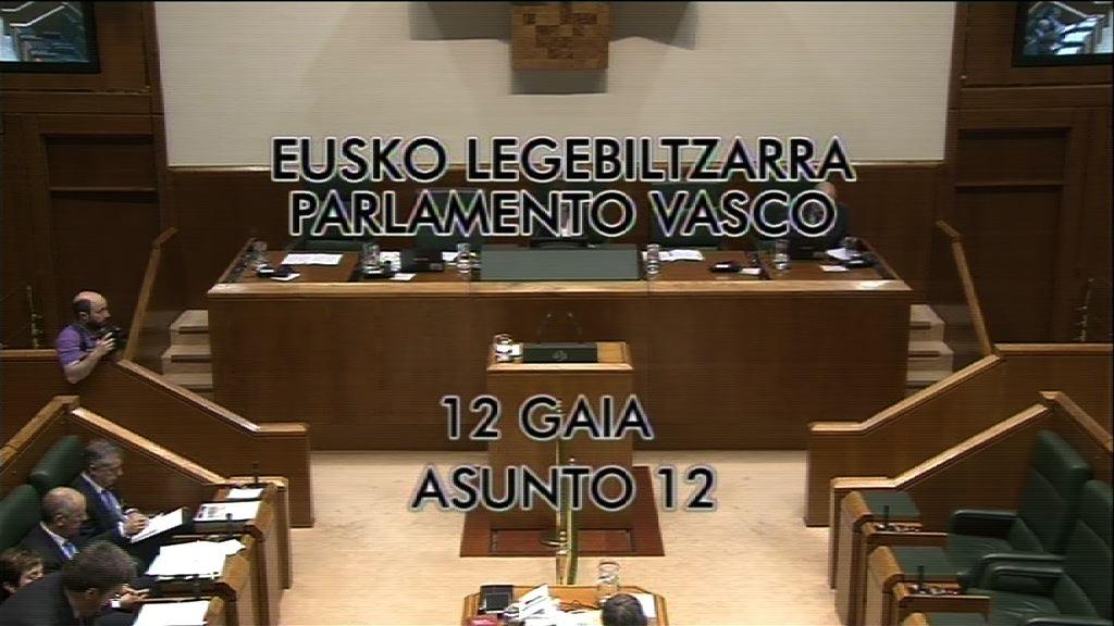 Pregunta, Oskar Matute, grupo EH Bildu, política de déficit cero [8:57]