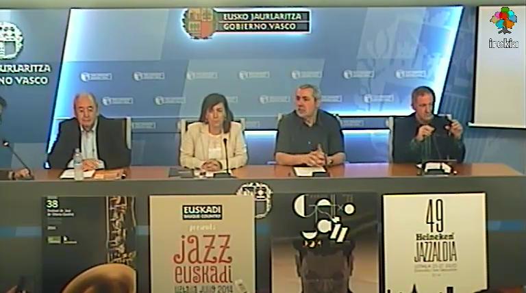 Kultura eta «touringa» sustatzearren, Euskadiren eskaintza turistikoa jazz-jaialdietan egongo da   [36:33]