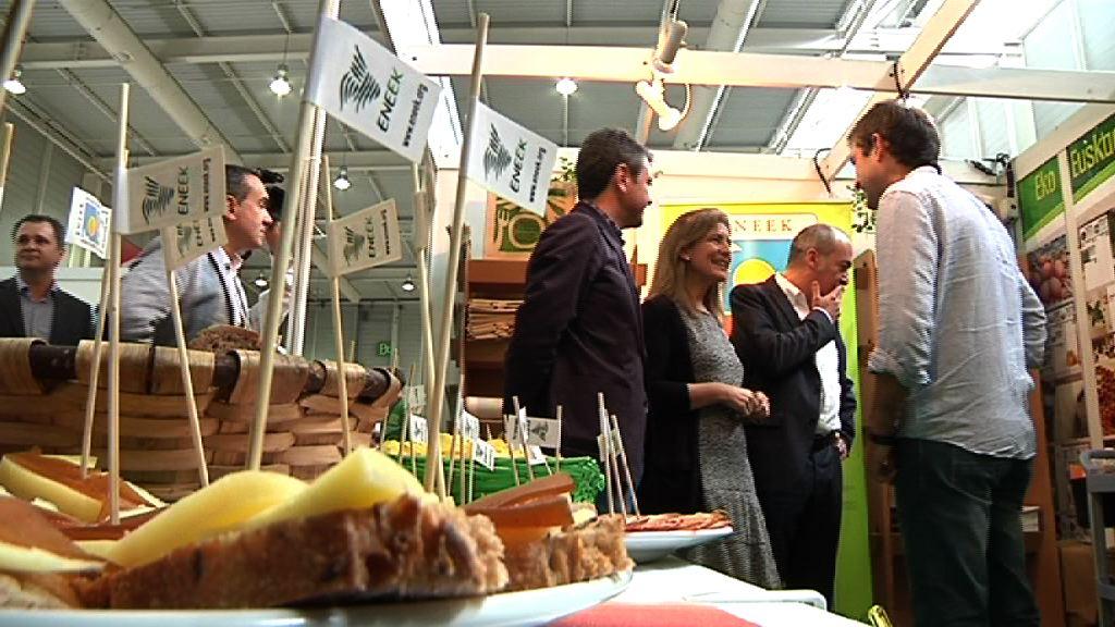 Oregi preside la apertura de la Feria de la Sostenibilidad Bioterra [5:19]
