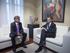 El lehendakari recibe al Delegado del Gobierno de Flandes en Madrid