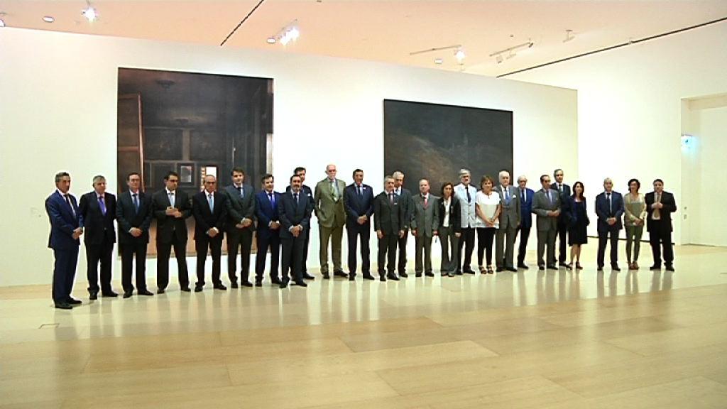 El Lehendakari asiste a la reunión del Patronato del Museo Guggenheim Bilbao [1:15]