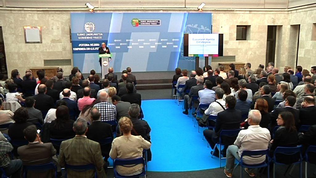 El lehendakari presenta la Agenda Estratégica del Euskera [69:58]