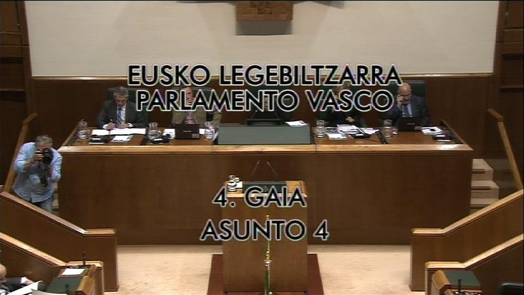 Pregunta, Nerea Llanos, grupo Popular Vasco, previsiones de crecimiento económico [9:01]