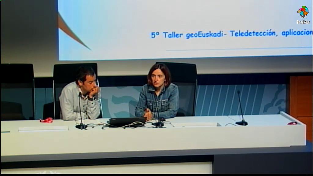5º Taller geoEuskadi - Teledetección, aplicaciones y casos de uso en la CAPV. Zonificación de parcelas vitícolas [17:58]
