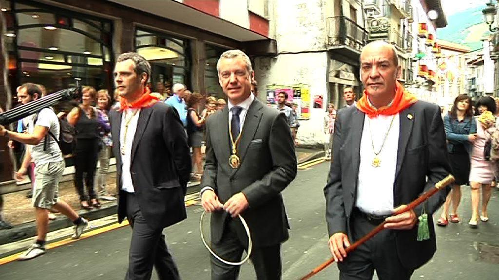 """Lehendakari: """"Lo importante de la reunión con Rajoy no es el día, sino profundizar en los temas que interesan a Euskadi"""" [11:55]"""