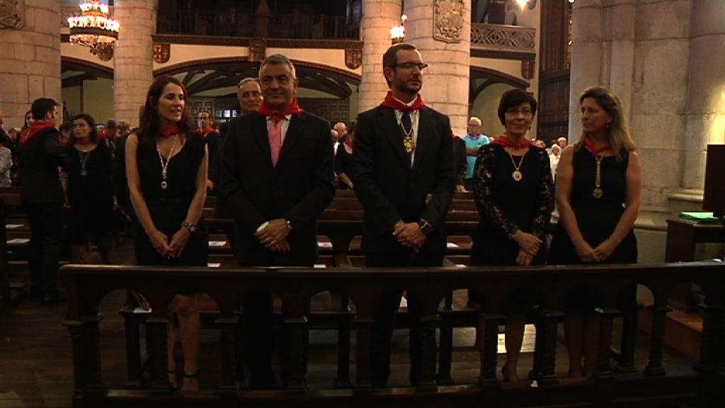 Oregi y Beltrán de Heredia, en las fiestas de Vitoria-Gasteiz [1:33]