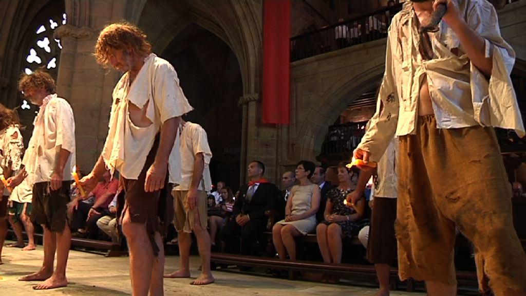 El Gobierno vasco acude a la representación del desembarco de Elkano [3:12]