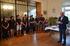 """El barco escuela """"Saltillo"""", recibido por el Ayuntamiento de San Juan de Luz/Donibane Lohitzun"""