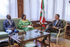 El Lehendakari recibe a la embajadora de Namibia