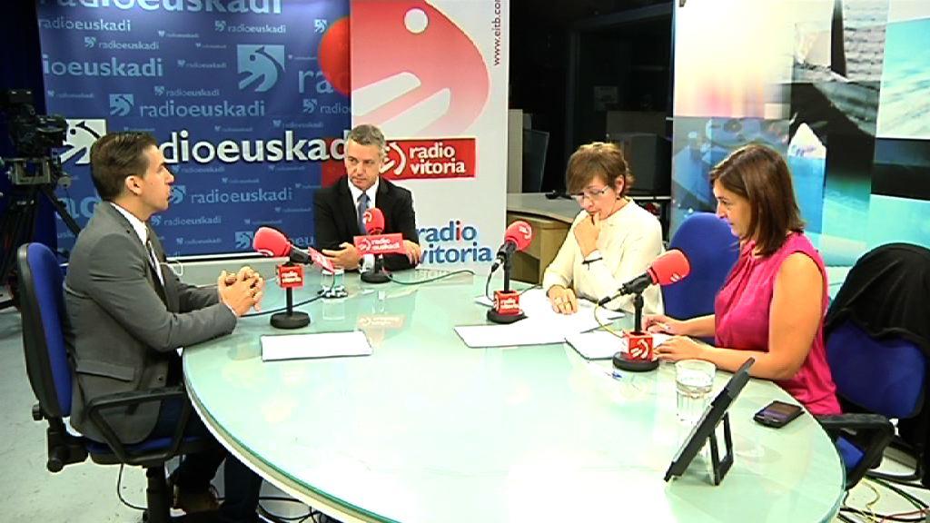 """El lehendakari reclama a Rajoy una """"bilateralidad efectiva"""" y el reconocimiento de la nación vasca [56:12]"""
