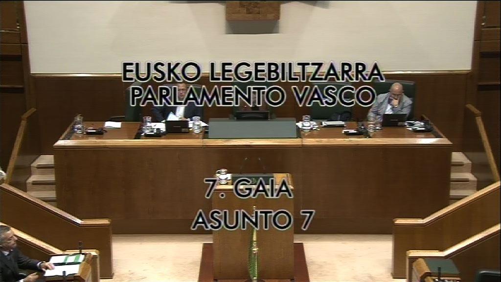 Interpelación, Laura Garrido, grupo Populares Vascos, ayudas sociales [28:32]