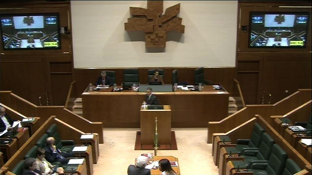 Interpelación, Unai Urruzuno, grupo EH Bildu, política de recortes [30:18]