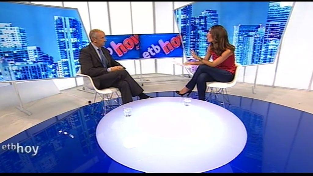 """Entrevista a Josu Erkoreka en el programa """"ETB Hoy""""  [20:33]"""