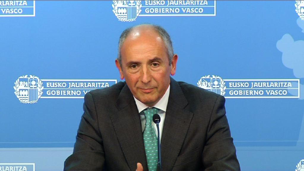 """El Gobierno Vasco  cree que la Generalitat busca celebrar la consulta """"en el marco de la legalidad y con todas las garantías"""" [32:06]"""
