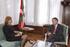 El Lehendakari recibe a la embajadora de Dinamarca