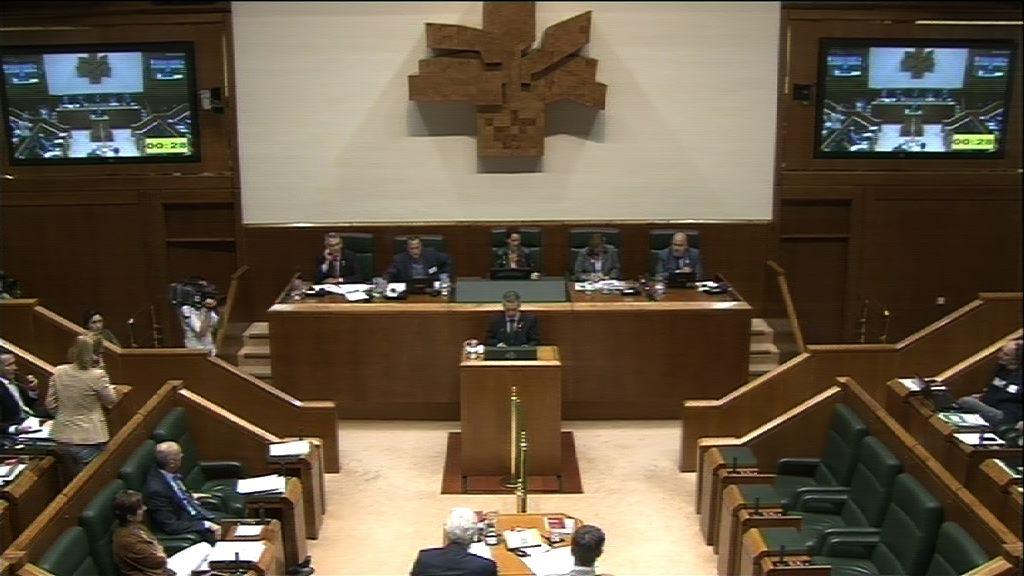 Pleno de Control al Gobierno Vasco [341:24]