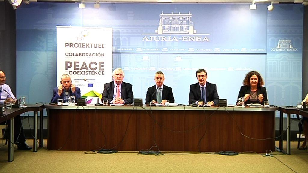 Euskadik eta Irlandak lankidetzan jardungo dute, PEACE PROGRAM IV 2014-2020 egitasmoan [11:50]