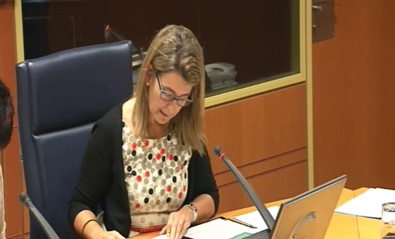 """Oregi: """"es necesario que el Puerto de Bilbao disponga de una infraestructura ferroviaria para el tráfico ferroportuario, sin las limitaciones actuales"""" [25:19]"""