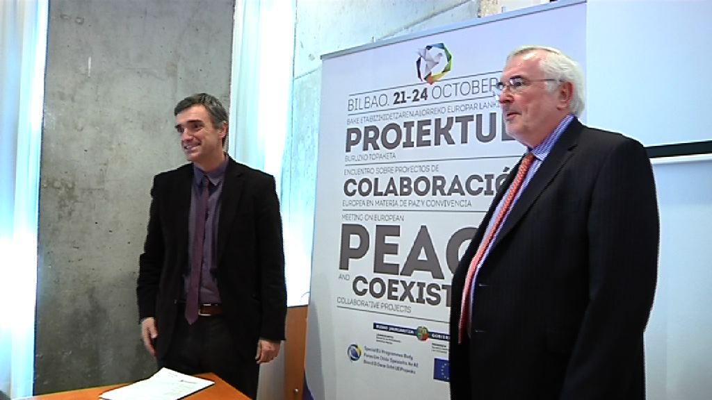 Euskadi e Irlanda del Norte presentarán  proyectos sobre víctimas, educación, juventud y reinserción en el programa europeo PEACE IV [28:00]