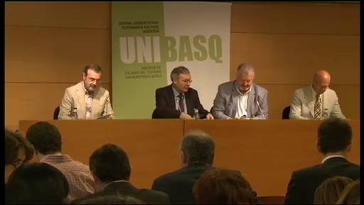 La viceconsejera de educación anuncia el propósito de alcanzar un 20% de profesorado internacional en la Universidad vasca para el año 2020 [119:05]