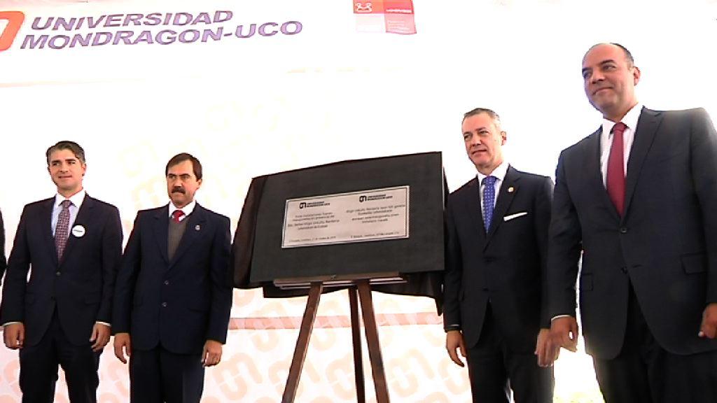 The Lehendakari opens the Mondragón-UCO University in Querétaro [9:52]