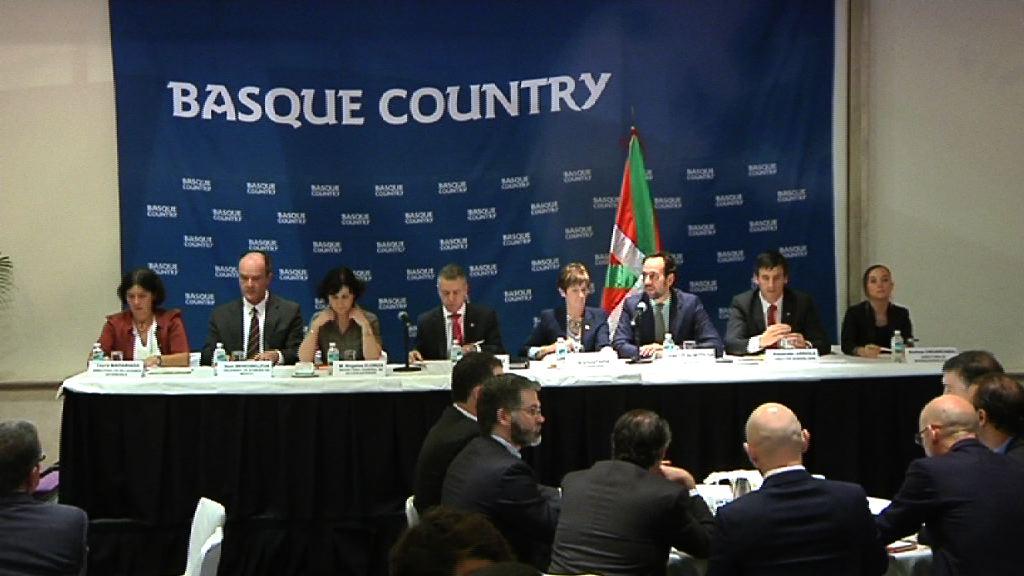 """El Gobierno Vasco creará la """"Mesa México"""" para reunir a empresas, instituciones vascas y mexicanas en un mismo foro [18:28]"""