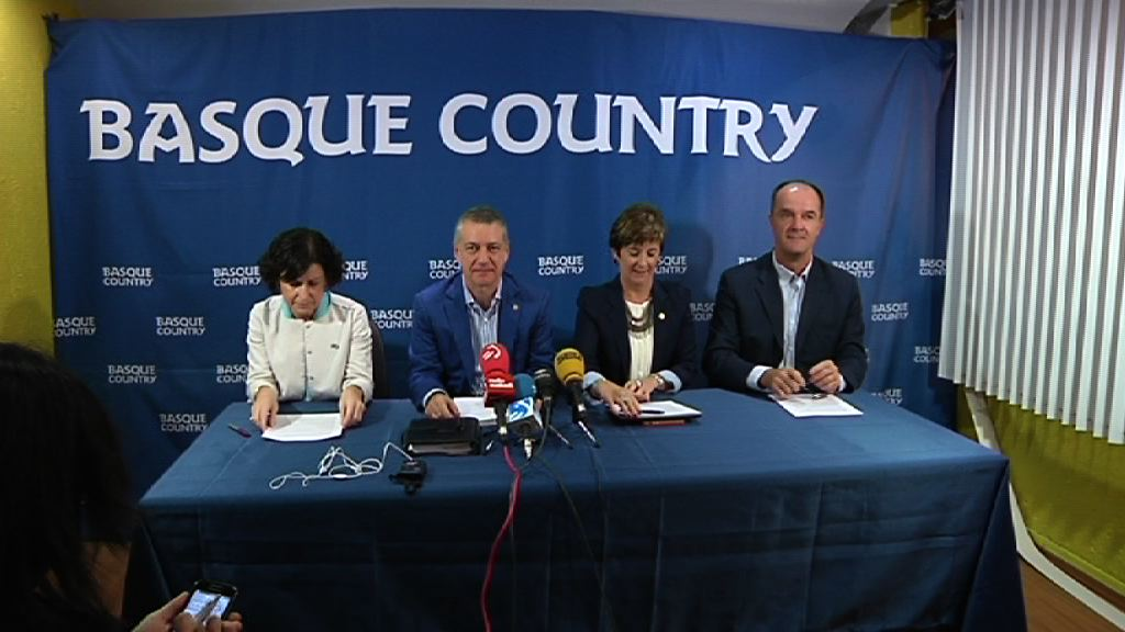 El lehendakari constata en su viaje oficial el interés que suscita Euskadi en México [33:07]