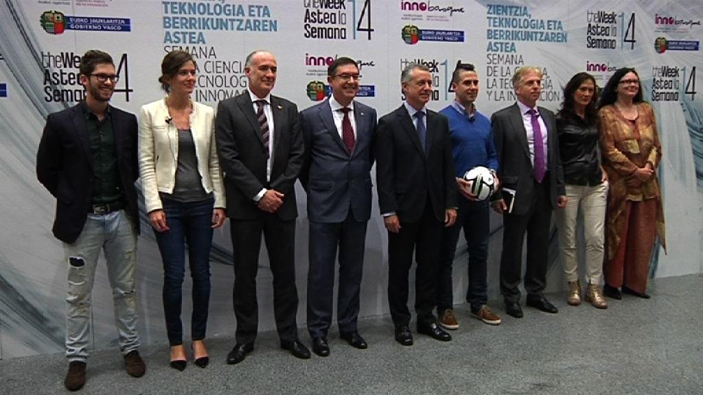 """Lehendakari: """"Inversión, industria, internacionalización e innovación son el motor económico de Euskadi"""" [7:44]"""