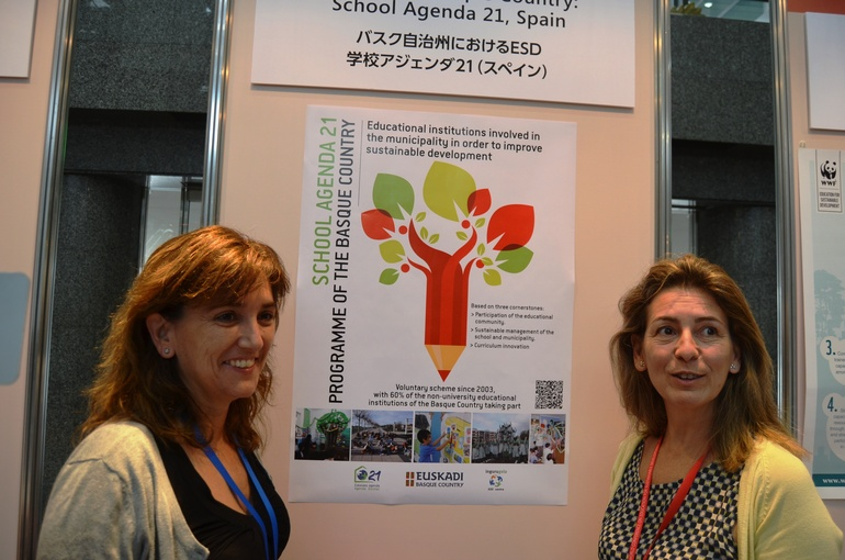 Naciones Unidas conoce de la mano de Oregi la experiencia vasca de Educación Sostenible en escuelas e ikastolas
