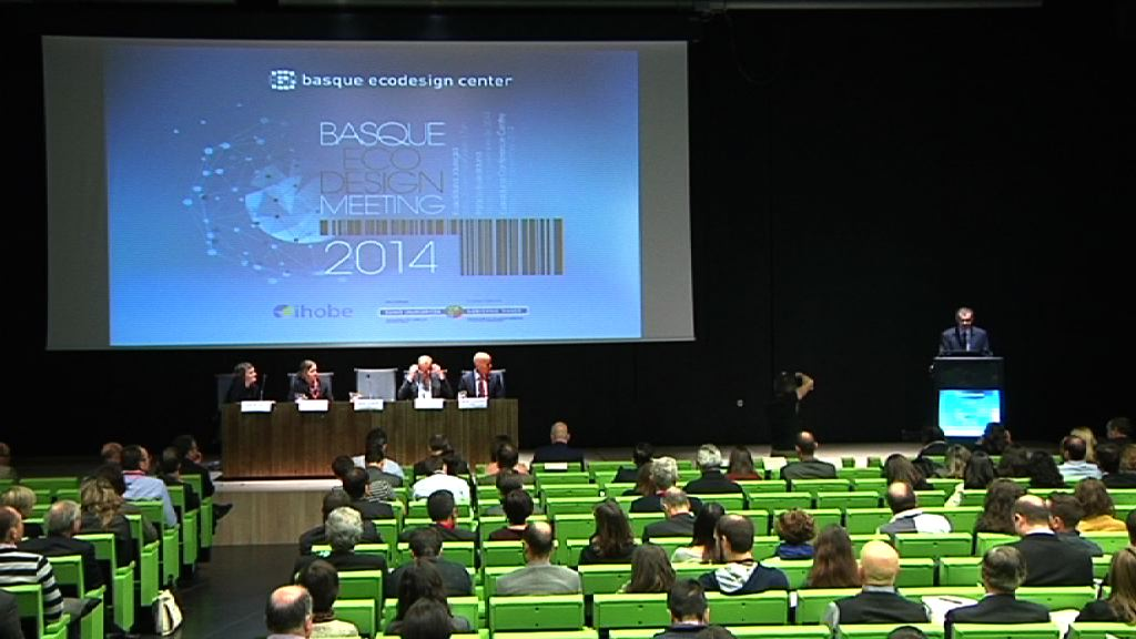 Basque Ecodesign Meeting in Bilbao to gather 300 leading industrial ecodesign businesses and professionals [119:25]